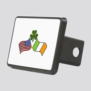 American Irish Flag Hitch Cover
