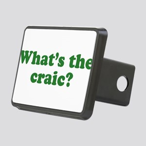 whats-the-craic_green Rectangular Hitch Cover