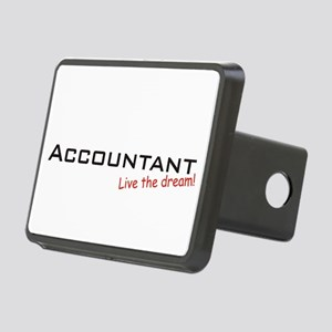 Accountant / Dream! Rectangular Hitch Cover
