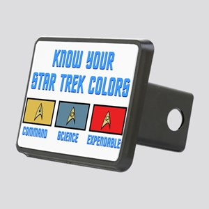 colors Rectangular Hitch Cover