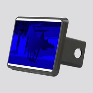 horse4 Rectangular Hitch Cover