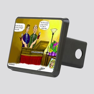 Funeral Rectangular Hitch Cover
