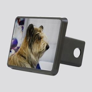 Shaggy Berger Picard Dog Rectangular Hitch Cover