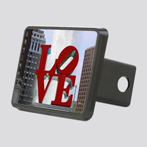 7780 Love Rectangular Hitch Cover
