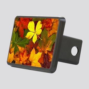 Colorful Autumn Rectangular Hitch Cover