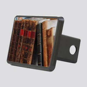 Old Books Rectangular Hitch Cover