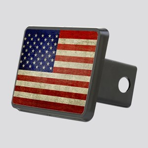 5x3rect_sticker_american_f Rectangular Hitch Cover
