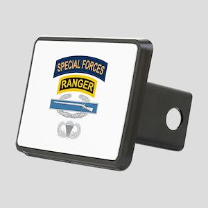 SF Ranger CIB Airborne Rectangular Hitch Cover