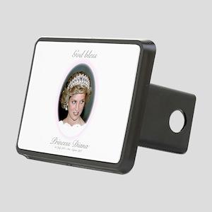God Bless Princess Diana Rectangular Hitch Cover