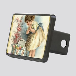 victorian easter Rectangular Hitch Cover