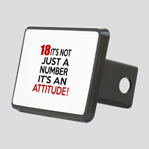 18 It Is Not Just a Number Rectangular Hitch Cover