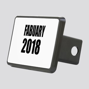 February 2018 Birthday Des Rectangular Hitch Cover