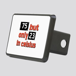 75 year old designs Rectangular Hitch Cover