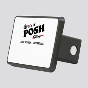 POSH thing, you wouldn't u Rectangular Hitch Cover