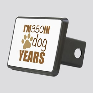 50th Birthday Dog Years Rectangular Hitch Cover