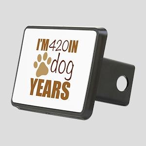 60th Birthday Dog Years Rectangular Hitch Cover