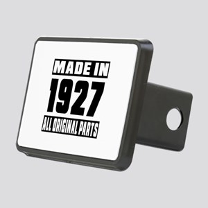 Made In 1927 Rectangular Hitch Cover