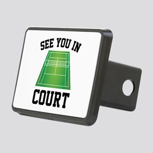 See You In Court Rectangular Hitch Cover