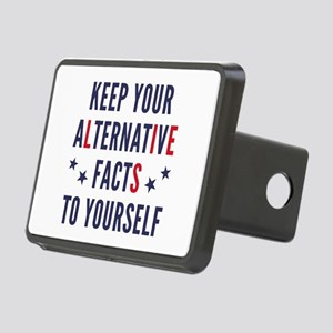 Alternative Facts Rectangular Hitch Cover