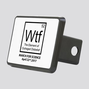 Wtf Outraged Disbelief Rectangular Hitch Cover