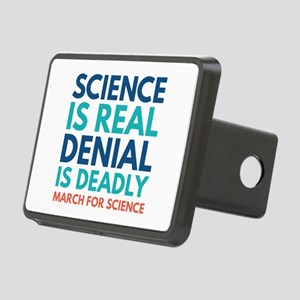 Science Is Real Rectangular Hitch Cover