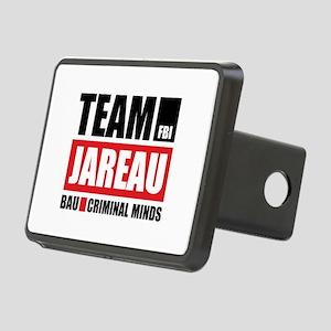 Team Jareau Rectangular Hitch Cover