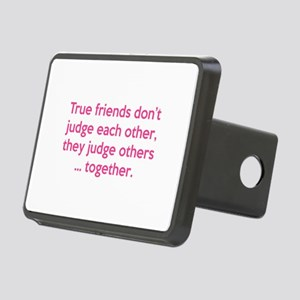 True Friends Rectangular Hitch Cover