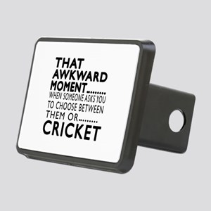 Cricket Awkward Moment Des Rectangular Hitch Cover