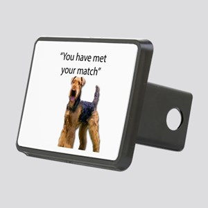 Airedale Terrier Says You' Rectangular Hitch Cover