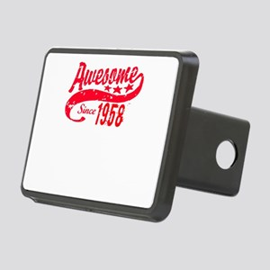 Awesome Since 1958 60 Year Rectangular Hitch Cover