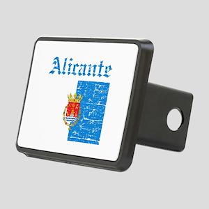 Alicante flag designs Rectangular Hitch Cover