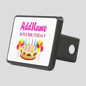 16TH BIRTHDAY Rectangular Hitch Cover