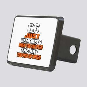 66 Just Remember Birthday Rectangular Hitch Cover