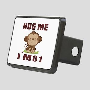 Hug Me I Am 01 Rectangular Hitch Cover