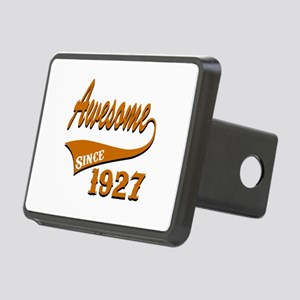 Awesome Since 1927 Birthda Rectangular Hitch Cover