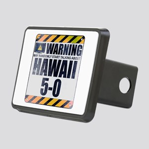 Warning: Hawaii 5-0 Rectangular Hitch Cover