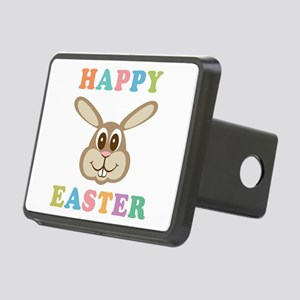 Happy Easter Bunny Rectangular Hitch Cover