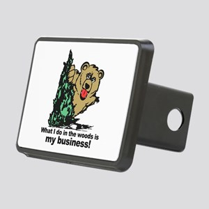 The Pooping Bear Hitch Cover