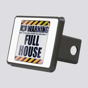 Warning: Full House Rectangular Hitch Cover