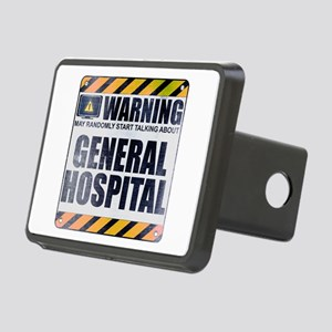 Warning: General Hospital Rectangular Hitch Cover
