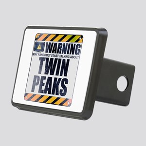 Warning: Twin Peaks Rectangular Hitch Cover