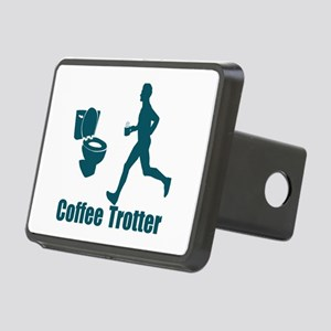 Coffee Trotter Rectangular Hitch Cover