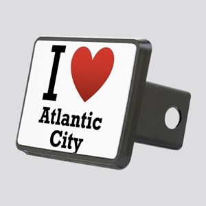 I-Love-Atlantic-City Rectangular Hitch Cover