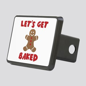 Let's Get Baked Funny Christmas Hitch Cover