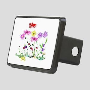 Flower Bunch Rectangular Hitch Cover