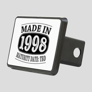 Made in 1998 - Maturity Da Rectangular Hitch Cover