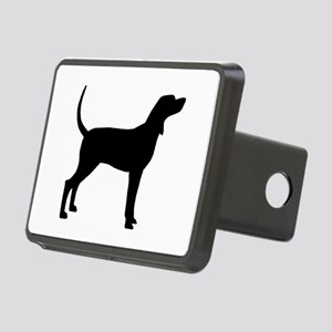 Coonhound Dog (#2) Rectangular Hitch Cover