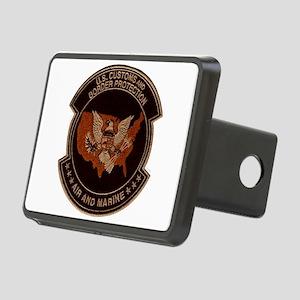 Border Patrol Air and Sea Rectangular Hitch Cover