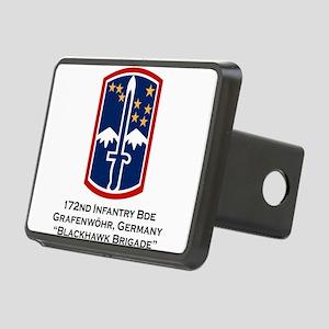172nd Blackhawk Bde Rectangular Hitch Cover