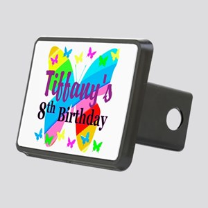 HAPPY 8TH Rectangular Hitch Cover